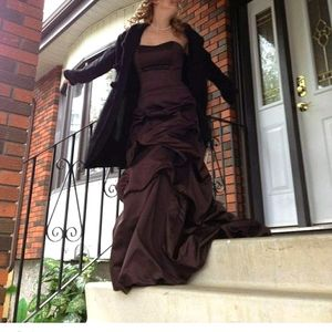 Chocolate Belle gown